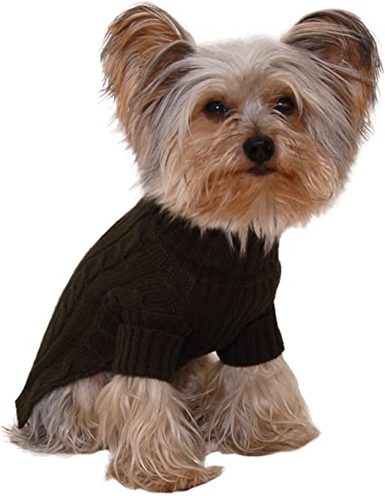 Stinky G Dog Sweater Turtleneck Purple Size #12