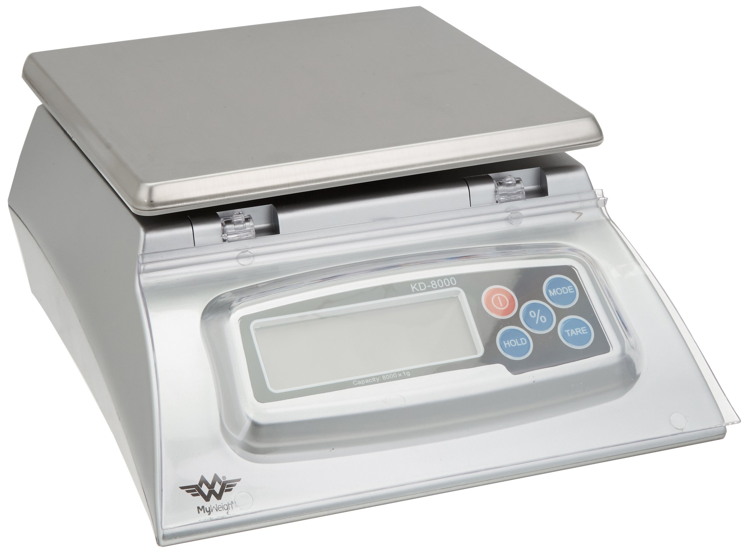 Kitchen Scale - Bakers Math Kitchen Scale - KD8000 Scale by My Weight, Silver by My Weigh