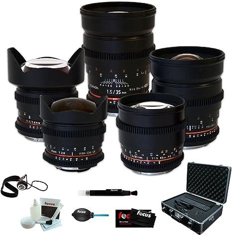 Rokinon Full 5 Cine Lens Kit 35 Mm 24 Mm Camera Photo