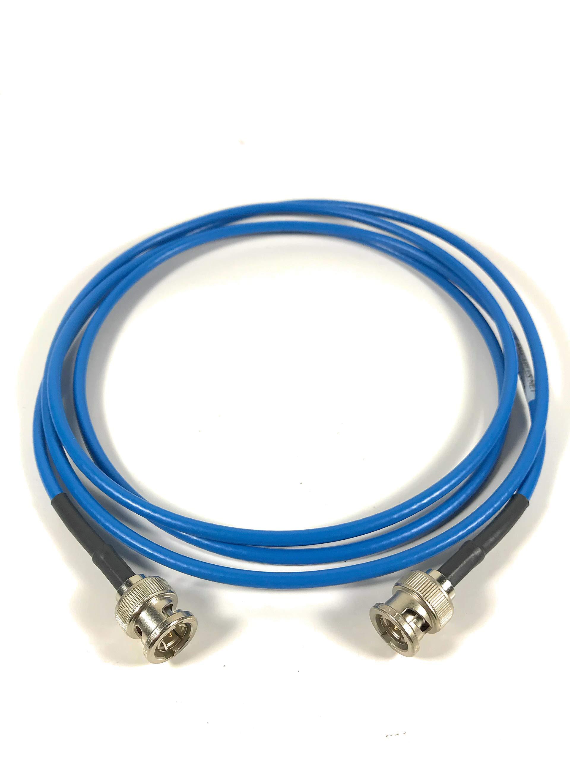 150ft AV-Cables 3G/6G HD SDI Mini RG59 BNC Belden 1855a Cable - Blue by AV-Cables