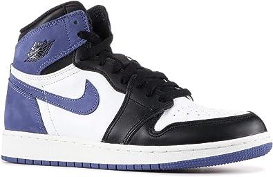 Amazon Com Air Jordan 1 Retro High Og Bg Blue Moon 575441