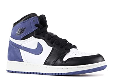 c3364b824626d6 Image Unavailable. Image not available for. Color  NIKE AIR Jordan 1 I Blue  Moon GS BG Youth ...