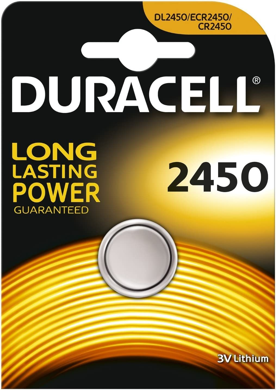 Duracell Cr2450 Lithium Knopfzelle Batterie 2 Elektronik