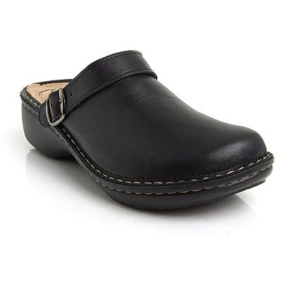 BATZ MIRA 5-Zones Handmade Leather Womens Ladies Slip-on Clogs Mules | Mules & Clogs