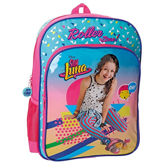 Disney 48523A1 Soy Luna Roller Zone Mochila Escolar, 40 cm, 15.6 Litros, Multicolor: Amazon.es: Equipaje