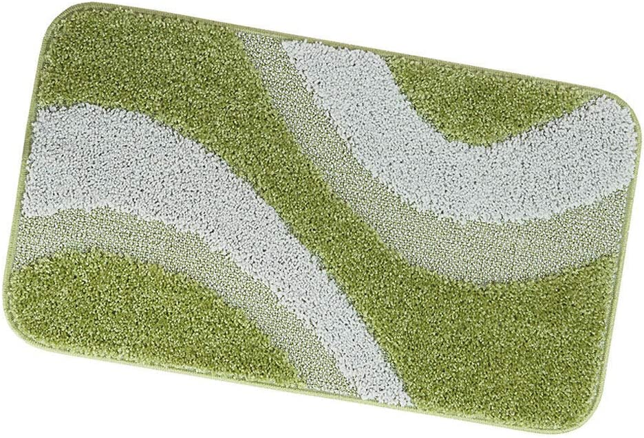 ARREDIAMOINSIEME-nelweb Tappeti Bagno Shaggy PARURE Set 3 Pezzi Moderni morbidissimi Retro Antiscivolo MOD.EVIA PARURE Beige A