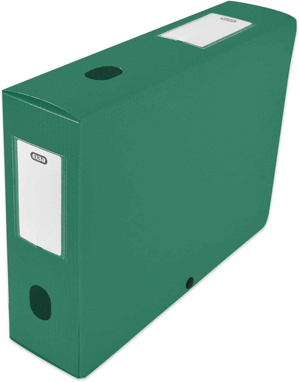 Elba 400094584 caja de índice con lomo 80 mm polipropileno opaco ...