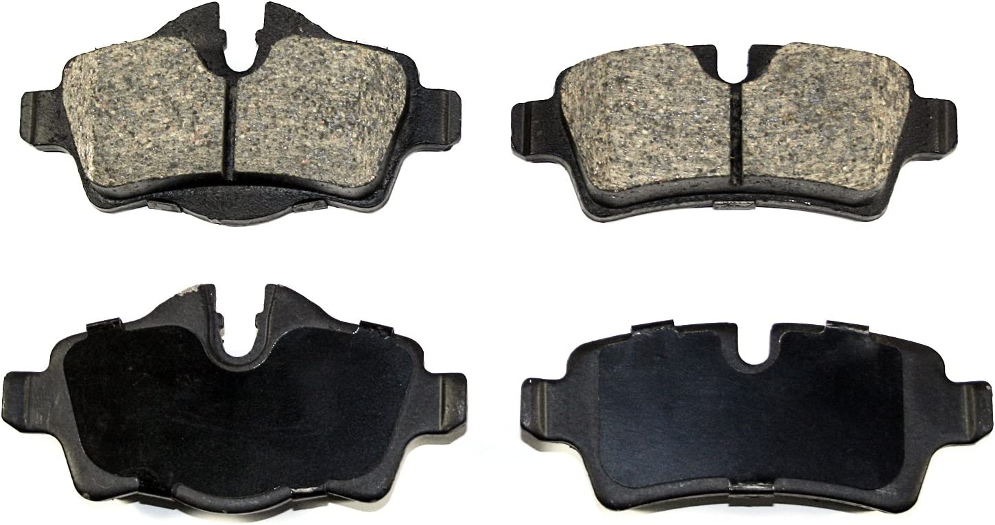 DuraGo BP1308C Front Ceramic Brake Pad