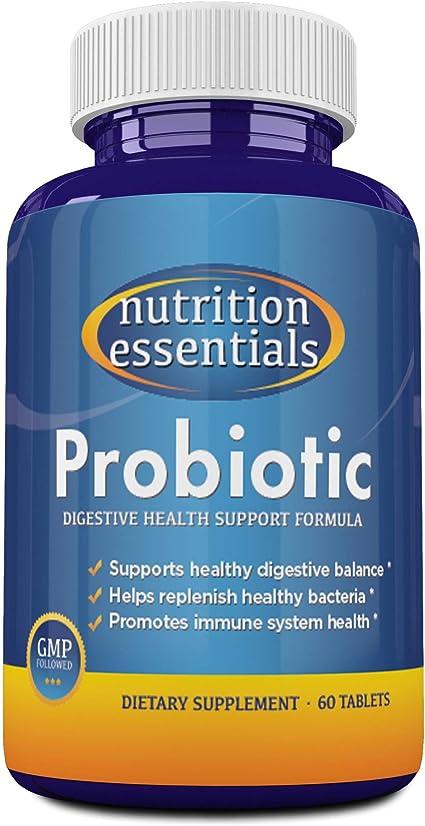 Amazon.com: #1 Best Probiotic Supplement - 900 Billion CFU Probiotics - Nutrition Essentials Highest Rated Acidophilus Probiotic for Women and Men - Organic Shelf Stable Probiotic for Digestive Health - Highest CFU's -