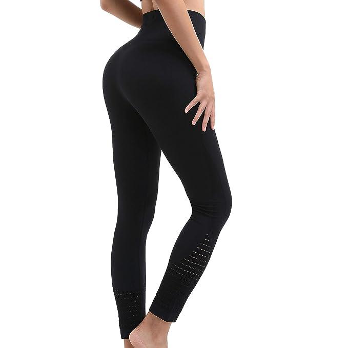 Amazon.com: DEEP TOUCH - Leggings de compresión de cintura ...