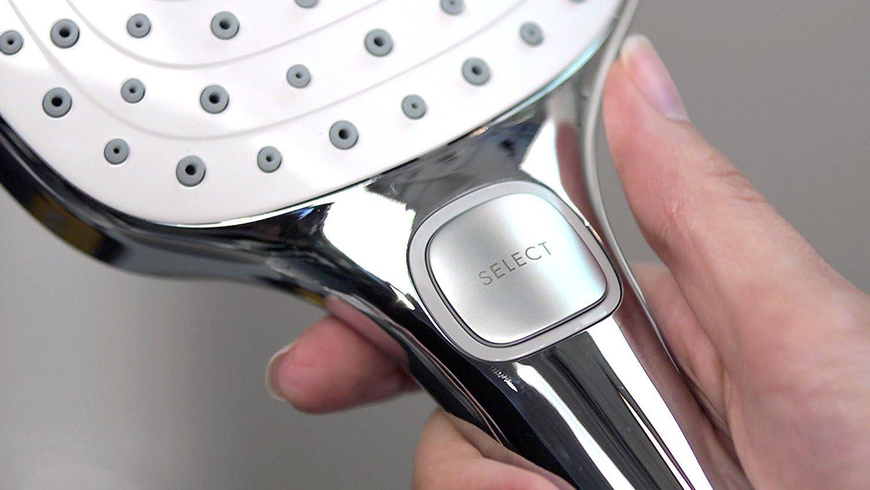 blanco//cromo Hansgrohe 26720400 Raindance Select E 120 ducha de mano con soporte 1,60m