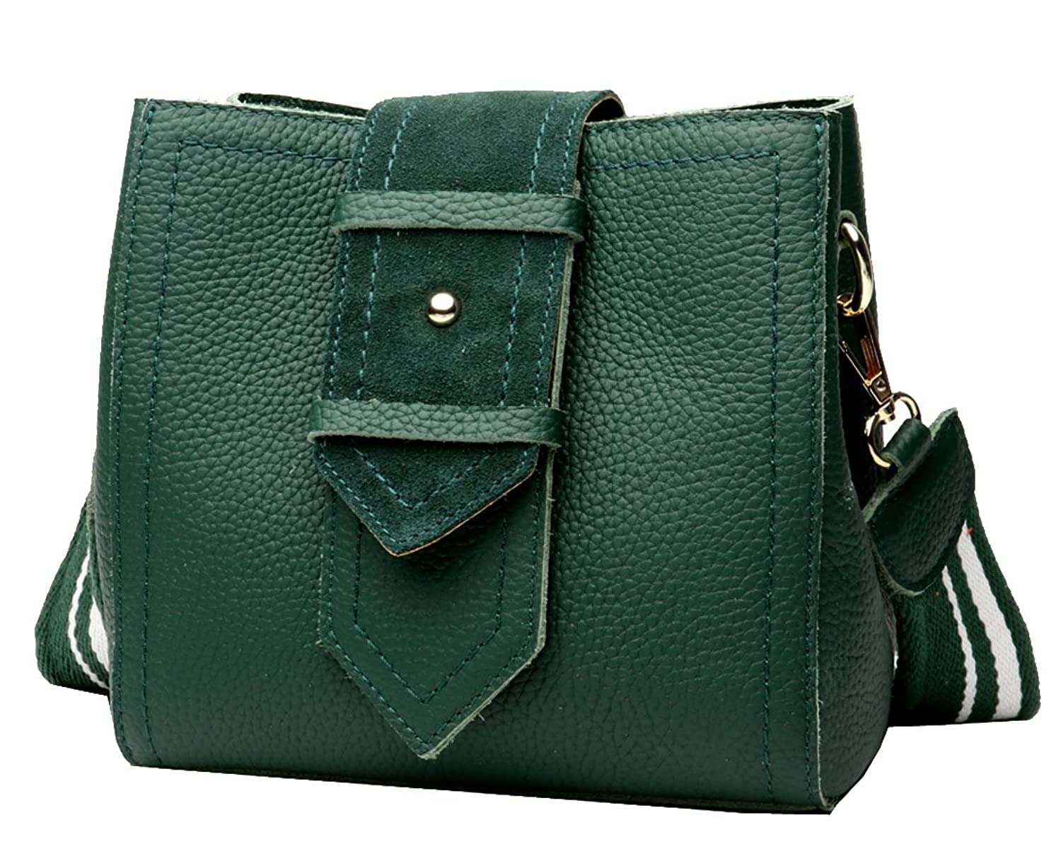 7565ef0667 Heshe Vintage Leather Shoulder Bags Small Handbags and Purses Cross Body Bag  Satchel for Womens and