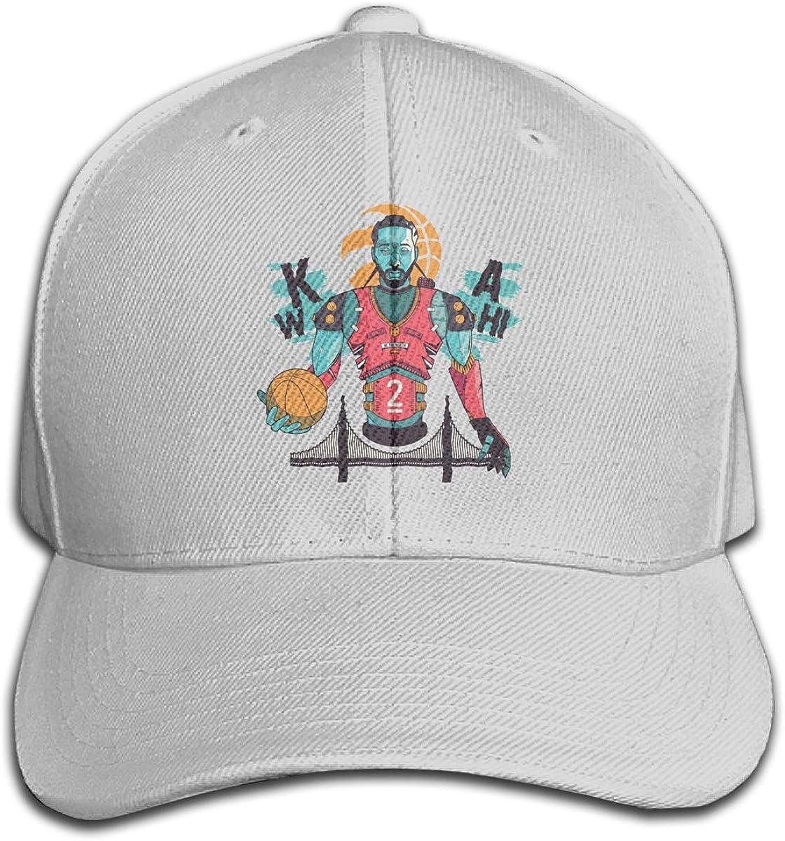 Haggai Romeo Unisex Kawhi-Leonard Pop Snapback Baseball Cap Flat Brim Hip Hop Hat Adjustable Dad Hat