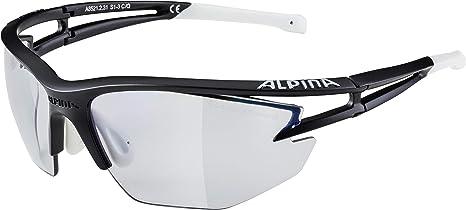 Alpina radbrille Sportbrille Twist Four VL black matt vario  schwarz Gr S