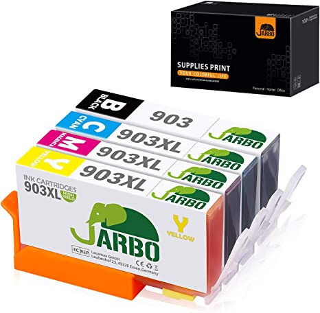 JARBO 903 903L 903XL Reemplazo Para HP 903 903 XL Alta capacidad ...