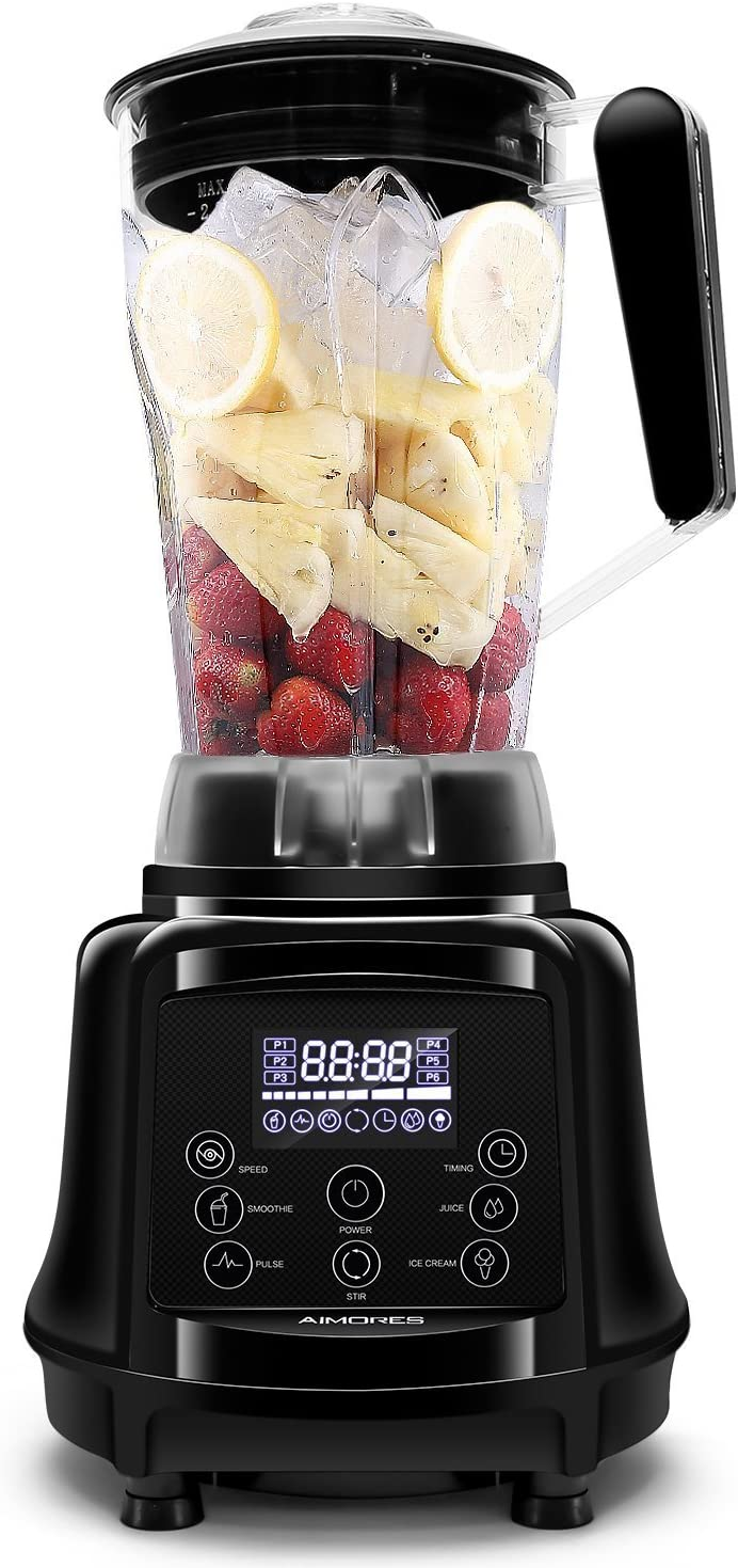 AIMORES Blender for Smoothies Heavy Duty