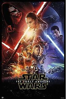star wars episode vii the force awakens movie poster print regular