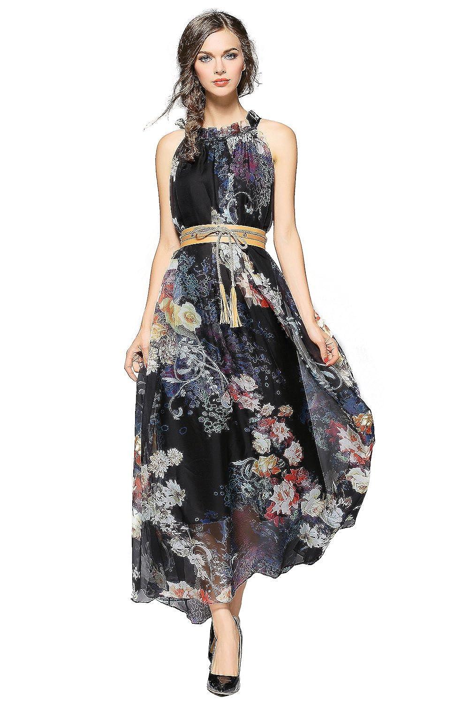 Amazon.com: Joy EnvyLand Women Floral Evening Party Summer Casual ...