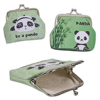 Monedero pequeño Oso Panda con Boquilla 2 Modelos al Azar ...
