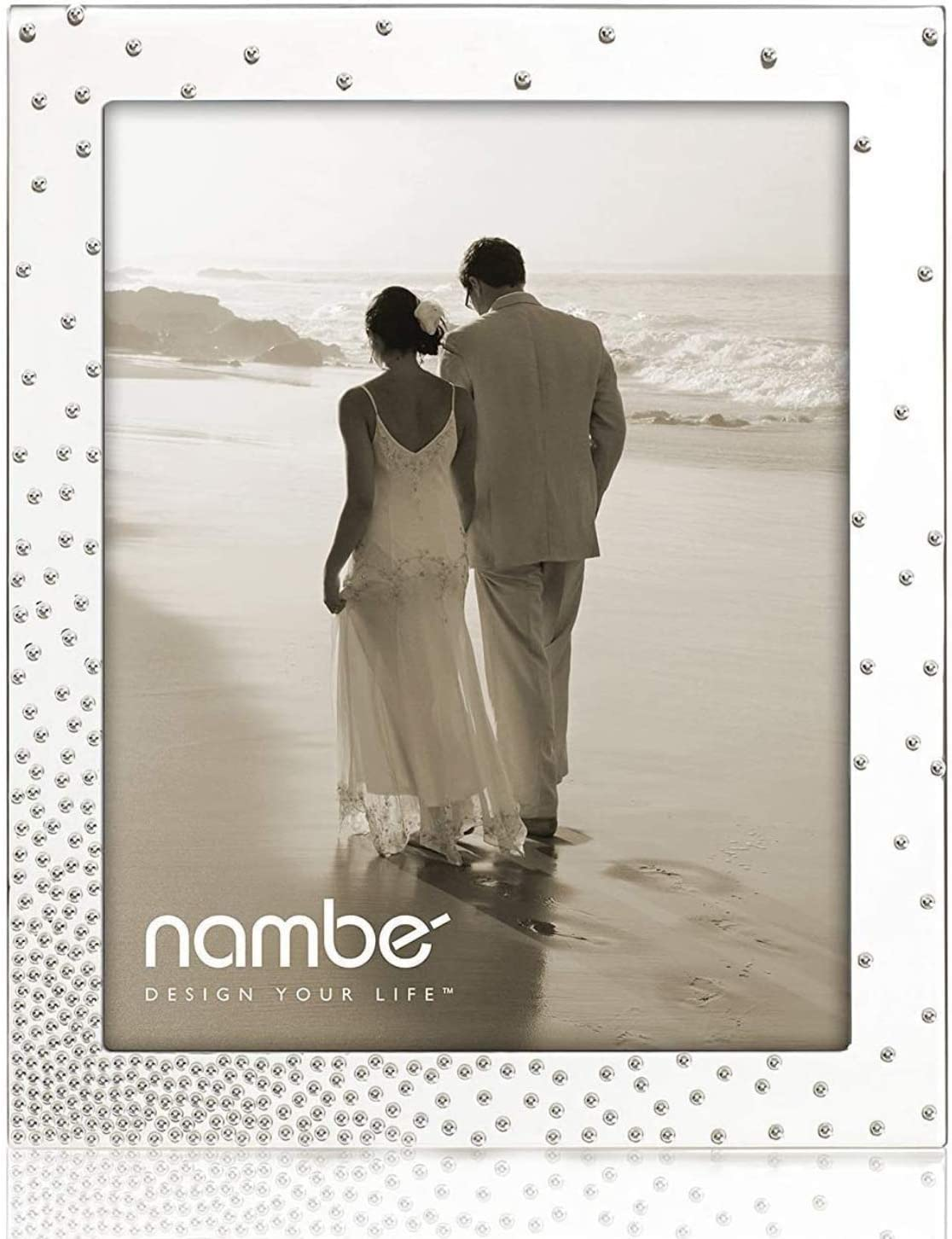 Nambe Dazzle Picture Frame, 8