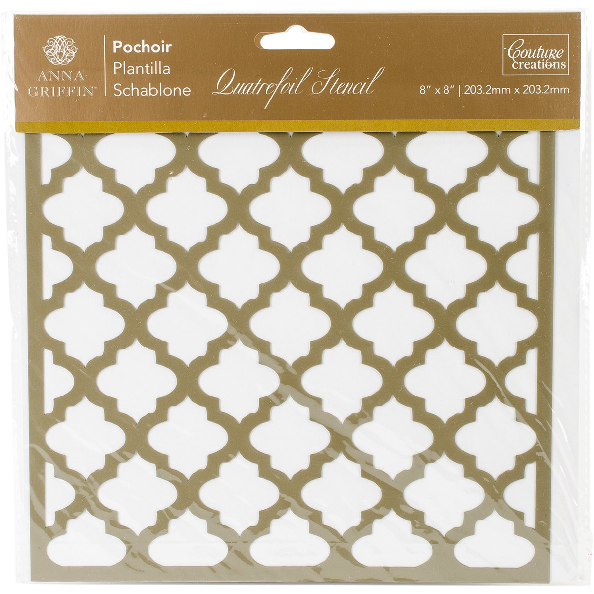 Artdeco Creations CO724883 Arabesque Stencil 8
