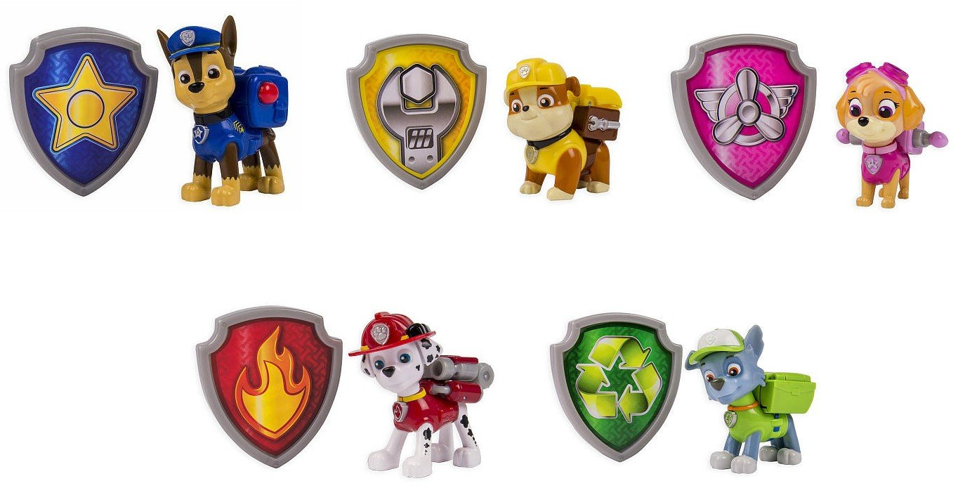 Image Is Loading 24 Paw Patrol Logo Shield Badge Edible