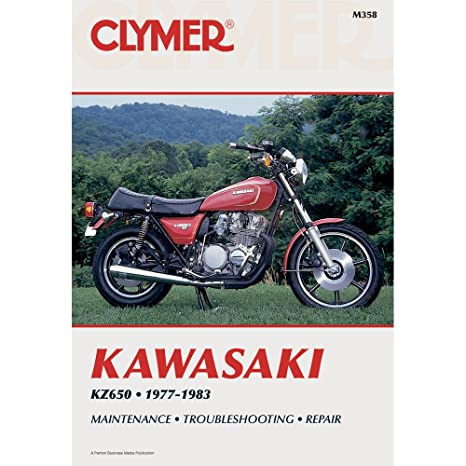 amazon com clymer repair manual for kawasaki kz650 kz 650 77 83 rh amazon com Clymer Freeride Clymer Freeride