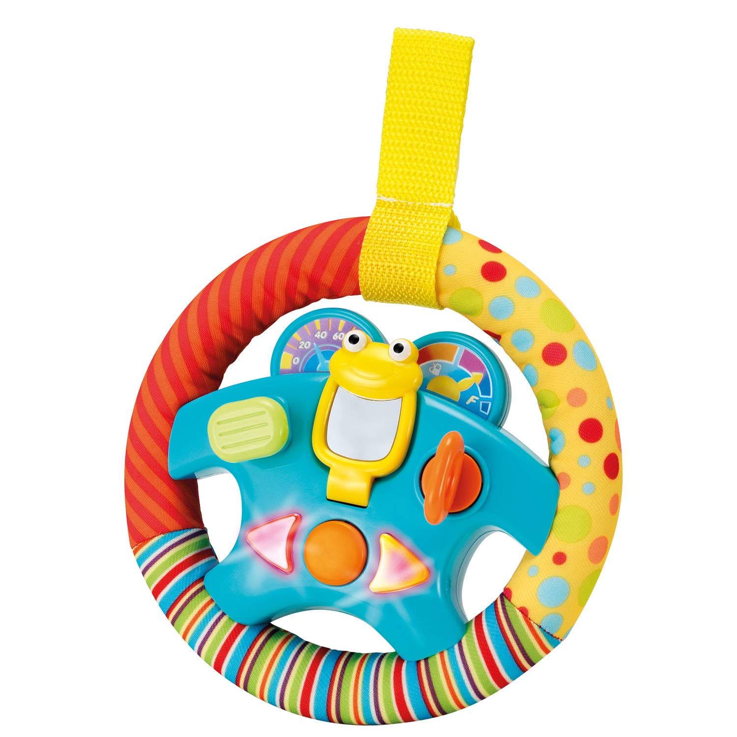 "Steering Wheel Toy ""My Little Driver"" with Motion Sensors, Music, Lights and Sounds"