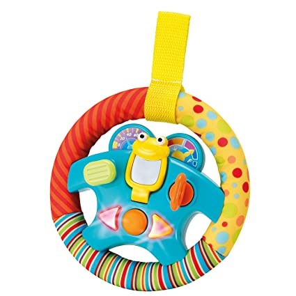 "aedda015e Amazon.com  Steering Wheel Toy ""My Little Driver"" with Motion ..."