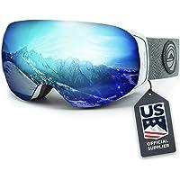 $59 » Wildhorn Roca Snowboard & Ski Goggles - US Ski Team Official Supplier - Interchangeable Lens…