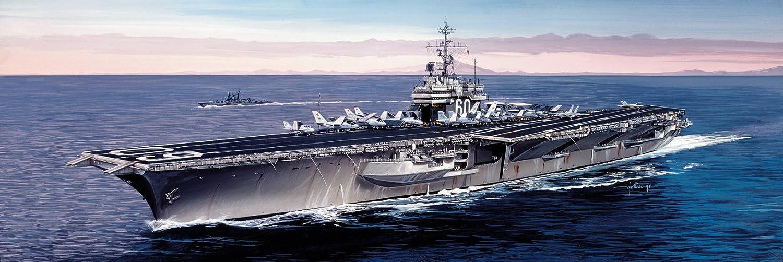 Italeri I5520 Maquette Bateau Echelle 1:720 Porte-avion USS Saratoga