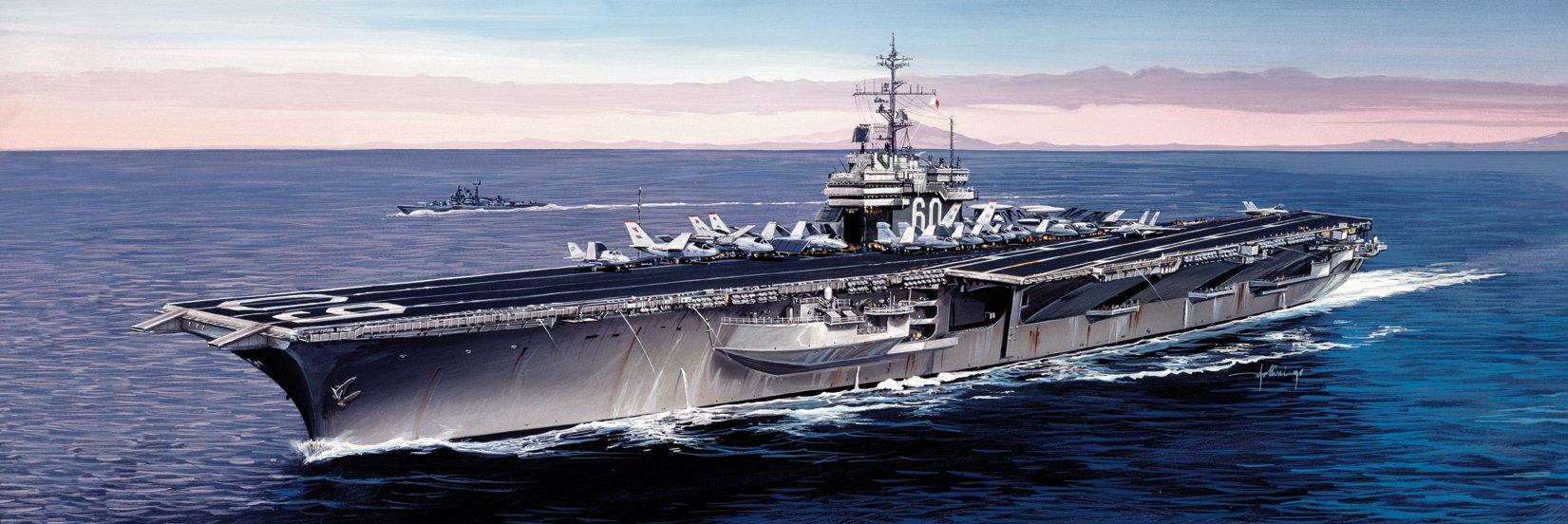Italeri 5520S USS Saratoga CV-60