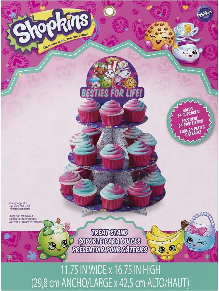 Shopkins Cupcake Stand, Assorted
