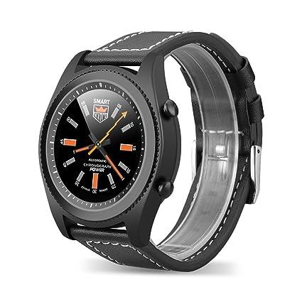 NO.1 S9 - Smartwatch con sensor de frecuencia cardíaca (acero ...