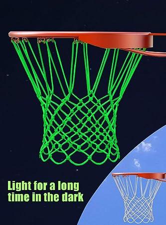 Amazon.com: SCIONE - Kit de aro de baloncesto con luz LED ...