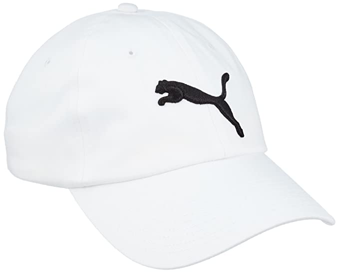 PUMA Mens Icon Adjustable Relaxed Fit Cap, Gray, One Size at Amazon Mens Clothing store: