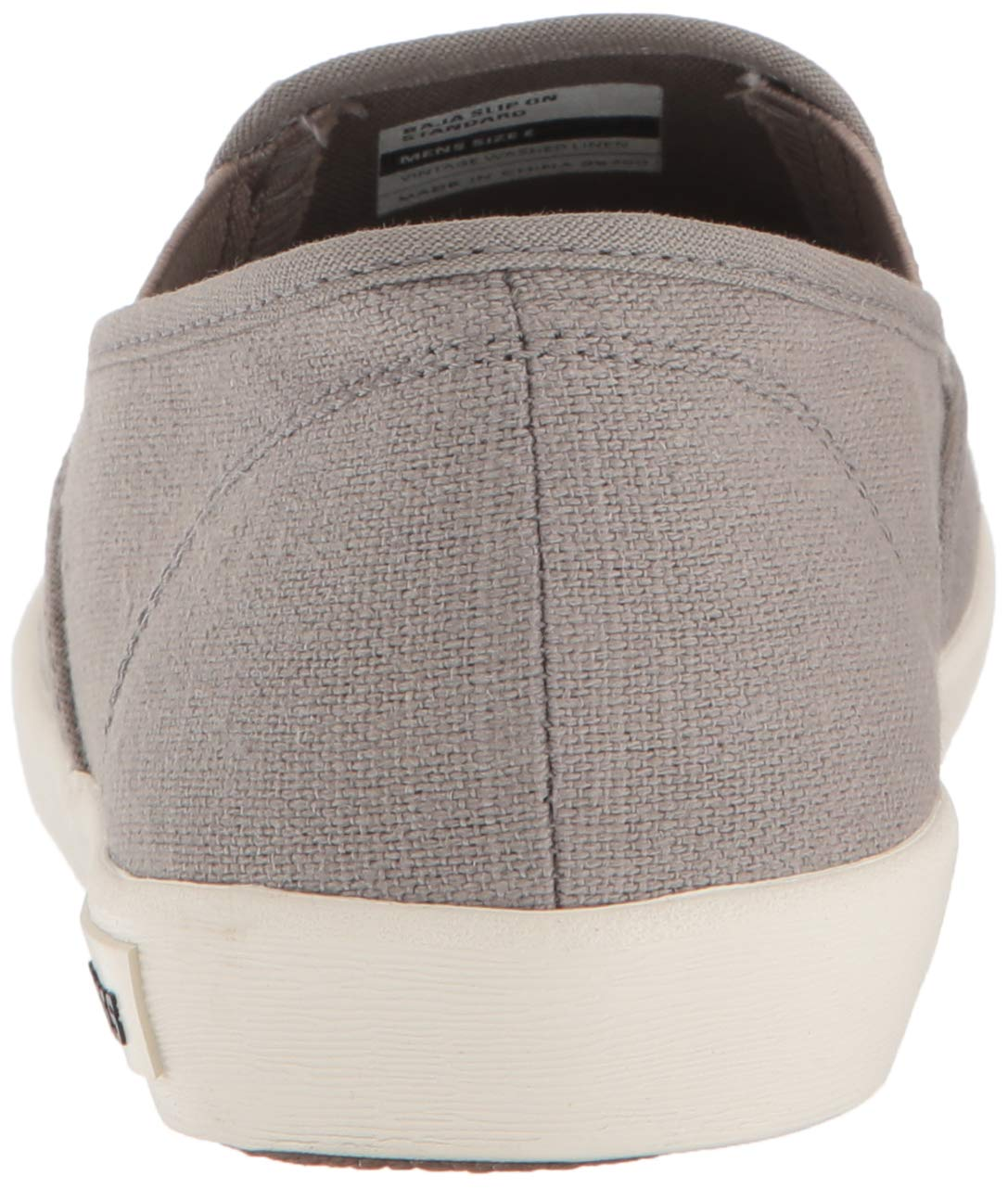 SeaVees Men's Baja Slip On Standard Casual Sneaker,Tin Grey, 12 by SeaVees (Image #2)