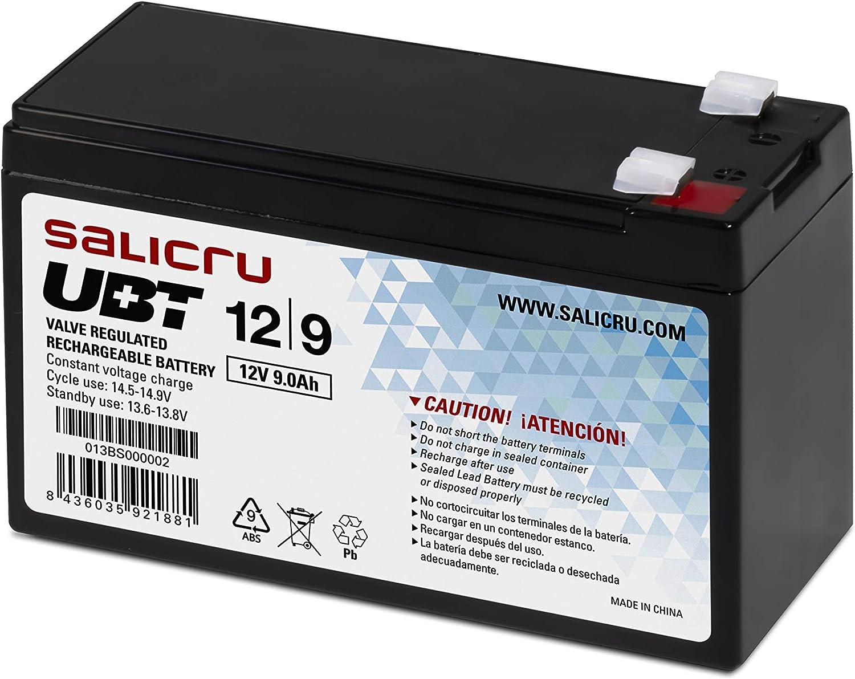 Salicru - Batería Salicru PBCA AGM 5Y 12V/9Ah 151X65X100MM (Android)