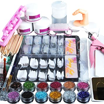 Amazon Professional Nail Art Kit Set Nail Art Stickers Dryer