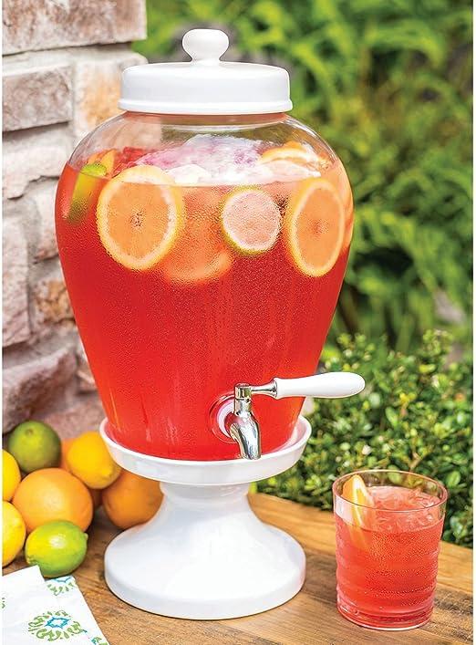 Sams West - Dispensador de bebidas de cerámica (2,5 galones): Amazon.es: Hogar