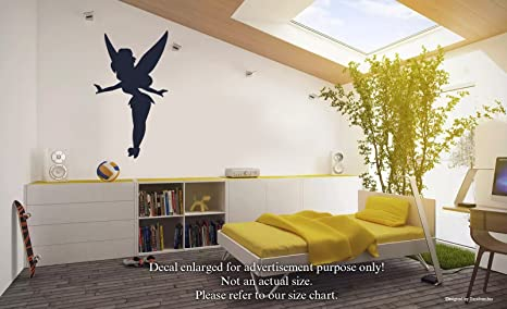Amazon Com Tinker Bell Wall Decals Magic Fairy Stickers