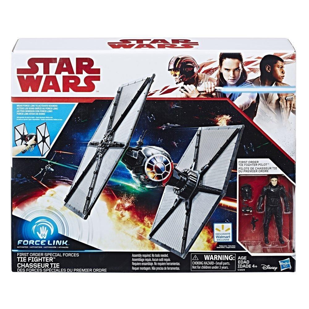 Nave TIE Fighter Class II First Order Special Forces, 30 cm. Star Wars Episodio VIII. Hasbro: Amazon.es: Juguetes y juegos