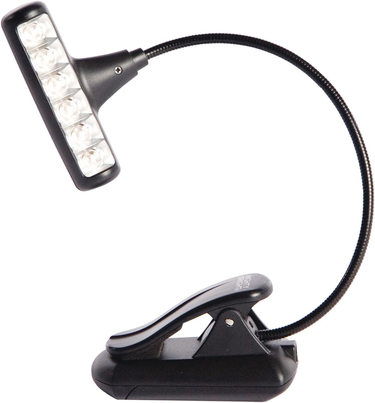 Xtra Flex 2 Leds Pinza Flexible Pilas Incluidas Purpura LAMPARA ATRIL Mighty Bright 85610