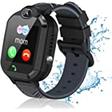 Kids Smart Watch for Boys Girls, Smart Watch for Kids with Call SOS Alarm Clock Games Camera Waterproof Kids Smart Watches, L