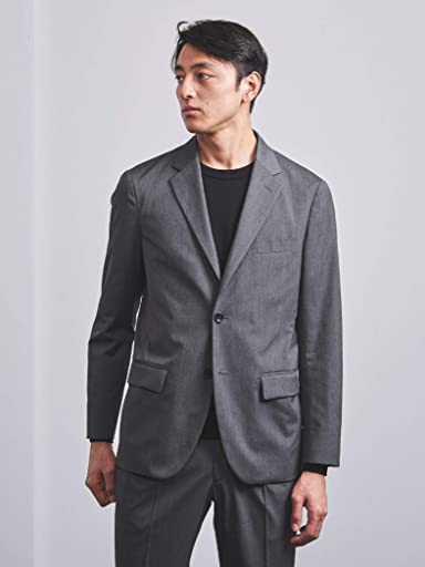 Stretch Polyester Rayon 2-button Sport Coat 1121-110-2277: Grey