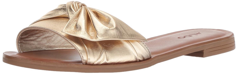 ALDO Women's Enroelia Slide Sandal B078WGQYCS 7 B(M) US Gold