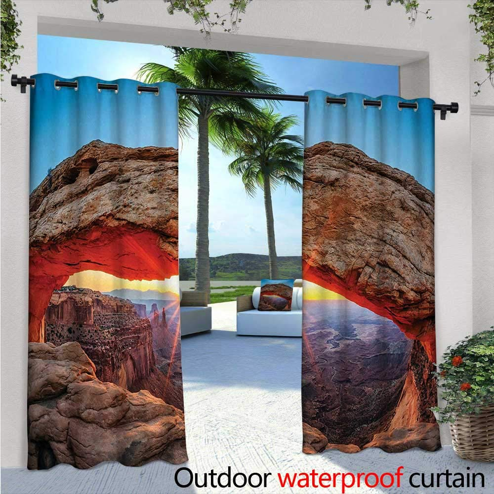 Amazon.com : USA Exterior/Outside Curtains Famous Sunrise at ...