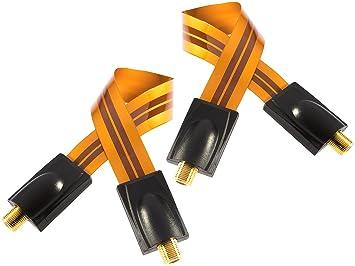 Poppstar - Cable de alimentación para Ventana (2 x 28 cm, SATA, contactos