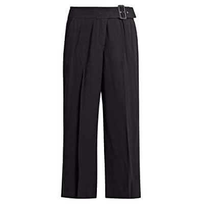 A.L.C. Women's Emily Navy Gaucho Belted Pants at Women's Clothing store