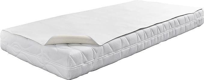 "Dormisette Matratzenauflage, Q332, blanc, 90 cm x 190 cm-""Wellness""(housse de matelas)"